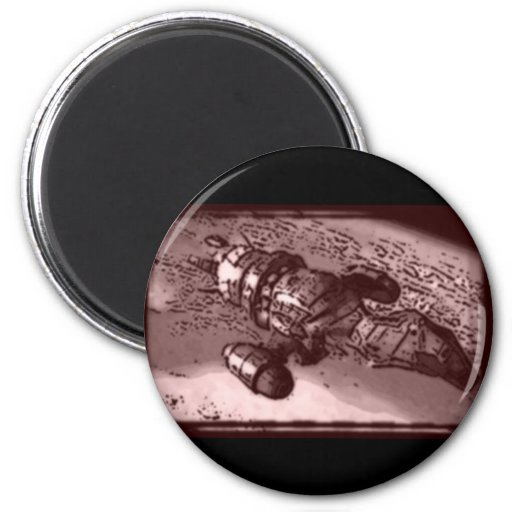 Ship Mate 2 Inch Round Magnet