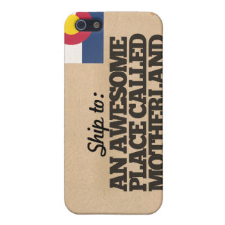 Ship me to Colorado Cover For iPhone 5