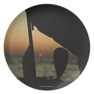 Ship Melamine Plate