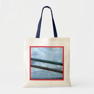 Ship Mooring Lines Tote Bag