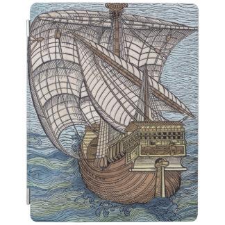 Ship of Columbus'Time' iPad Smart Cover
