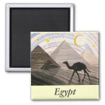 Ship of the Desert 2 Inch Square Magnet