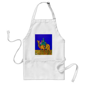 Ship of the Desert by Piliero Adult Apron