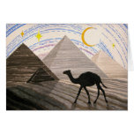 Ship Of The Desert Greeting Cards
