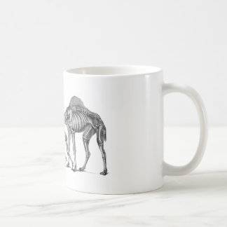 Ship of the Desert - Skeleton Camels At Rest Classic White Coffee Mug