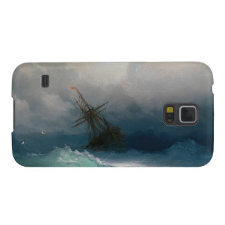Ship on Stormy Seas Ivan Aivazovsky seascape storm Case For Galaxy S5