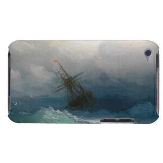 Ship on Stormy Seas Ivan Aivazovsky seascape storm iPod Case-Mate Case