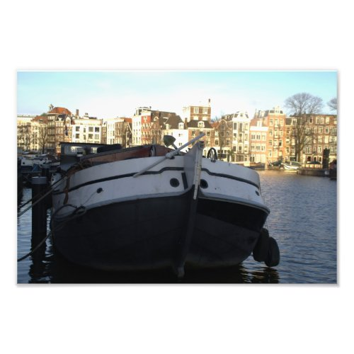 Ship on the Amstel River
