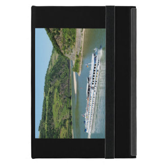 Ship on the Rhine with Oberwesel Case For iPad Mini
