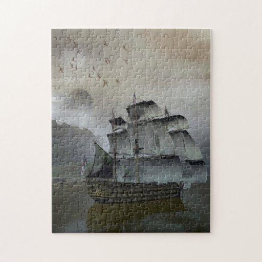ship on the sea jigsaw puzzle