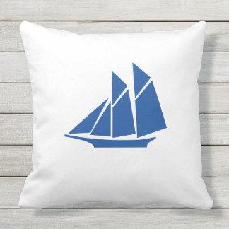 """""""Ship"""" Outdoor Pillow"""