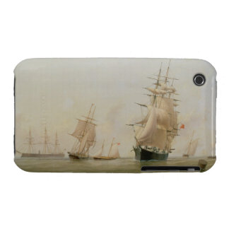 Ship Painting (oil on canvas) iPhone 3 Case
