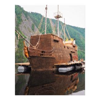 Ship Pirate Letterhead