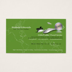 Ship Plane Train Travel Agency Business Card at Zazzle