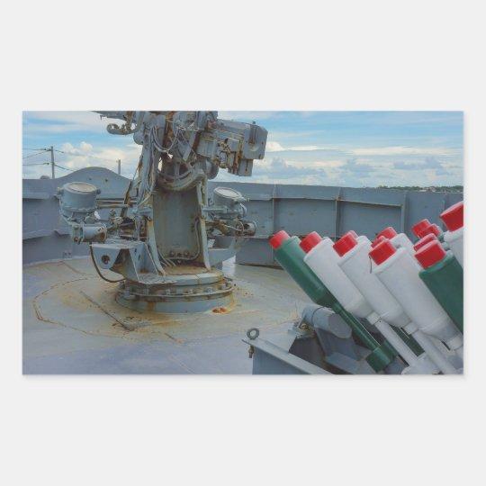 Ship Rectangular Sticker