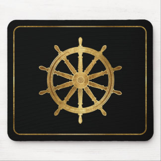 Ship's Helm Mouse Pad