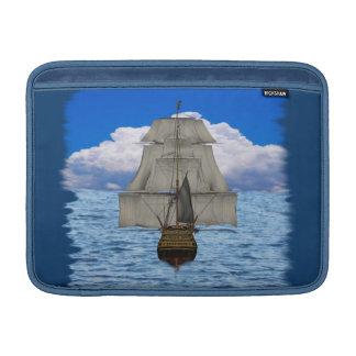 Ship sailing MacBook sleeves