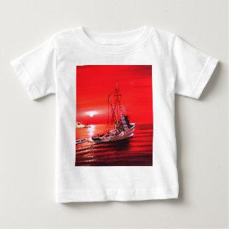 ship sailing to goal success and joy infant t-shirt