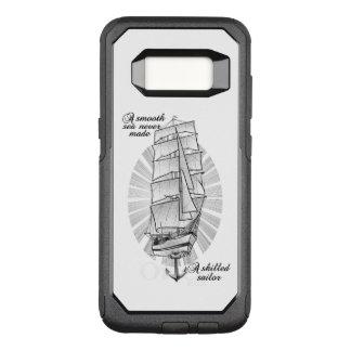 Ship Sailors Tattoo Illustration OtterBox Commuter Samsung Galaxy S8 Case