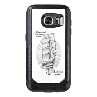 Ship Sailors Tattoo Illustration OtterBox Samsung Galaxy S7 Case