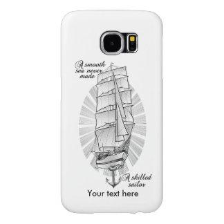 Ship Sailors Tattoo Samsung Galaxy S6 Case