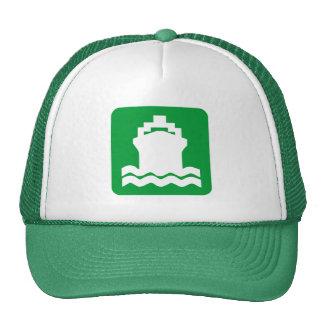 Ship Shape - Grass Green Trucker Hat