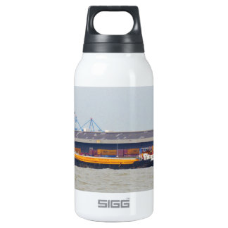 Ship SWS Thurrock 10 Oz Insulated SIGG Thermos Water Bottle