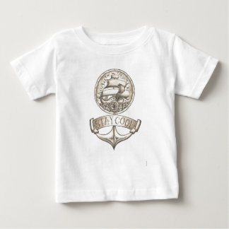 Ship Tattoo Stay Cool Baby T-Shirt