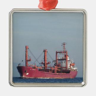 Ship TK VENICE Metal Ornament