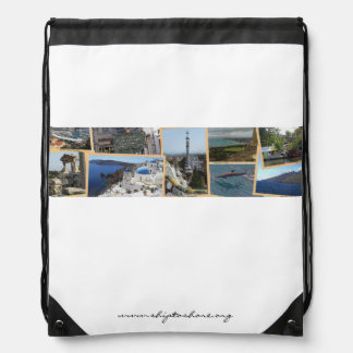 Ship to Shore Logo Drawstring Backback Drawstring Backpack