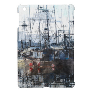 Ship, Trawlers Artwork for Boaters iPad Mini Cases