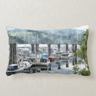 Ship, Trawlers Artwork for Boaters Pillow
