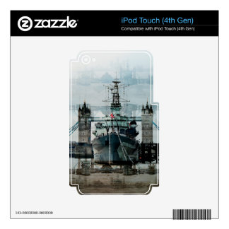 Ship, Trawlers Artwork for Boaters Decal For iPod Touch 4G