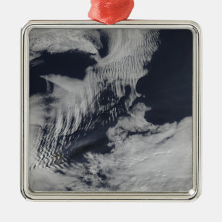 Ship-wave-shaped clouds in the South Indian Oce Christmas Ornament