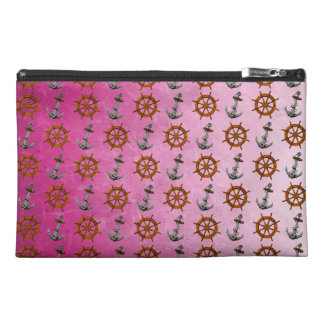 Ship Wheel And Anchor Travel Accessory Bags