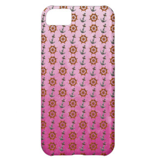 Ship Wheel And Anchor iPhone 5C Cover