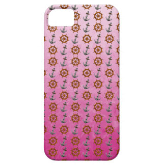 Ship Wheel And Anchor iPhone 5 Cover