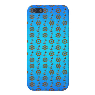 Ship Wheel And Anchor Covers For iPhone 5