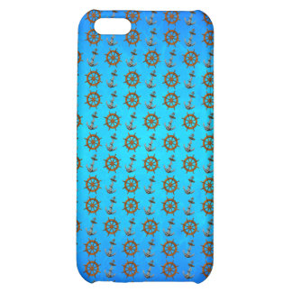 Ship Wheel And Anchor iPhone 5C Covers