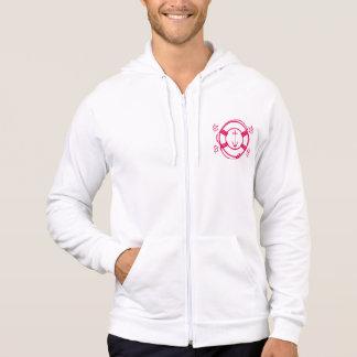ship wheel and life preserver hoodie