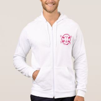 ship wheel and life preserver pullover