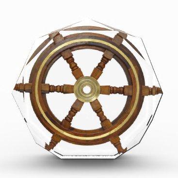 Beach Themed Ship Wheel Award