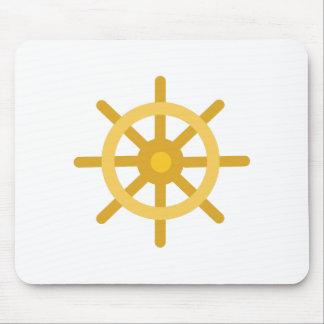 Ship Wheel Mouse Pad