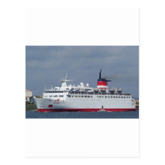 Ship Wisteria. Postcard