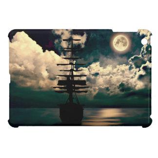 Ship with full moon iPad mini covering Cover For The iPad Mini