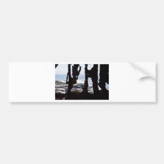 Ship Wreck Ghosts Bumper Sticker