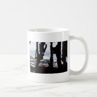 Ship Wreck Ghosts Basic White Mug