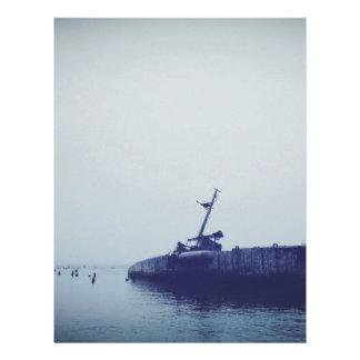 Ship Wreck Letterhead Template