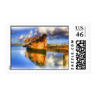 Ship Wreck Postage