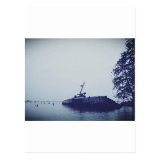 Ship Wreck Post Card
